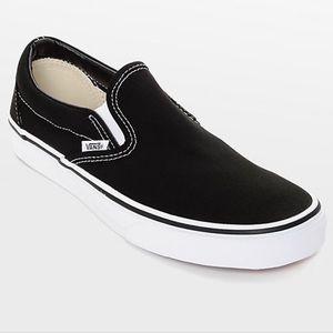Used Black Slip On Vans